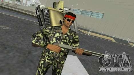 Camo Skin 03 para GTA Vice City