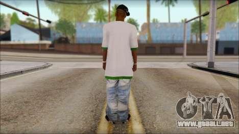 Sweet Full Replacement para GTA San Andreas segunda pantalla