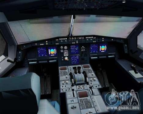 Airbus A340-312 TAP Portugal para la vista superior GTA San Andreas
