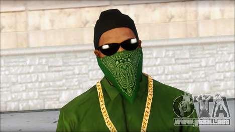 New CJ v4 para GTA San Andreas tercera pantalla