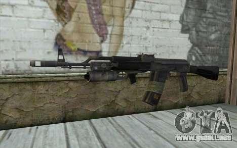 El AK-101 con seguro a nuestro (Battlefield 2) para GTA San Andreas