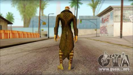 Gambit Deadpool The Game Cable para GTA San Andreas segunda pantalla