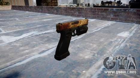 Pistola Glock 20 de élite para GTA 4 segundos de pantalla