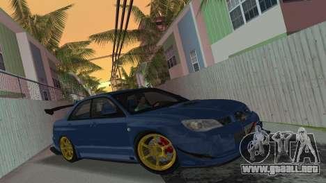 Subaru Impreza WRX STI 2006 Type 2 para GTA Vice City