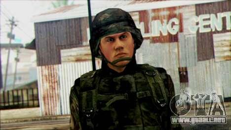 Los soldados de la guardia Nacional de los estad para GTA San Andreas tercera pantalla