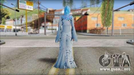 Gaza Tina Armstrong para GTA San Andreas segunda pantalla