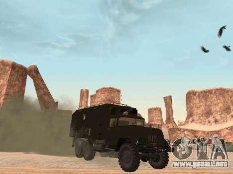 ZIL 131 Kung para GTA San Andreas left