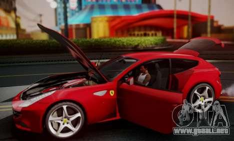 Ferrari FF 2012 para la vista superior GTA San Andreas