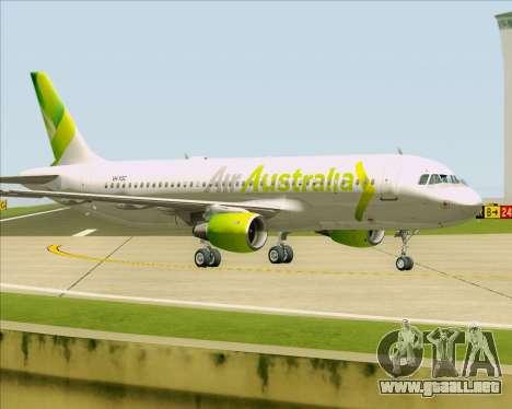 Airbus A320-200 Air Australia para las ruedas de GTA San Andreas