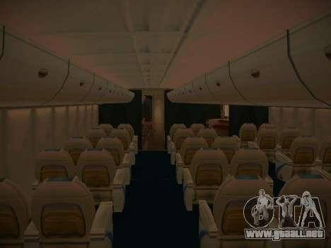 Airbus A380-800 Lufthansa para el motor de GTA San Andreas