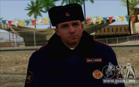 DPS de la Piel 2 para GTA San Andreas tercera pantalla