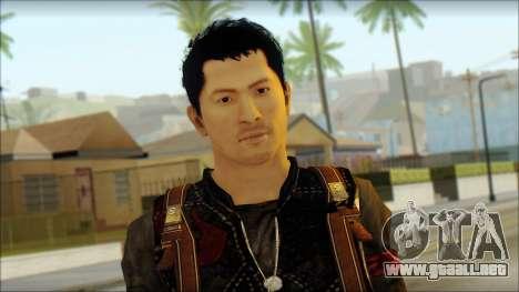 Wei Shen From Sleeping Dogs para GTA San Andreas tercera pantalla