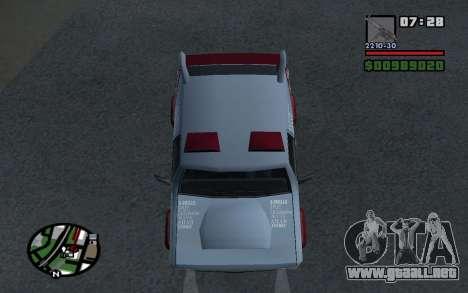 Actualizado Sandking para la visión correcta GTA San Andreas