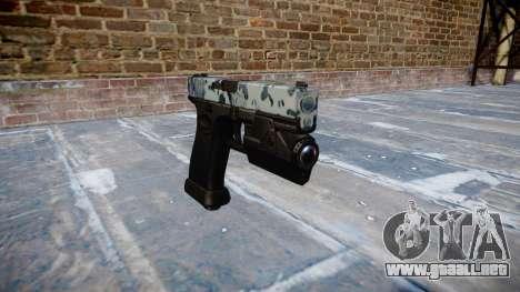 Pistola Glock 20 cráneos para GTA 4