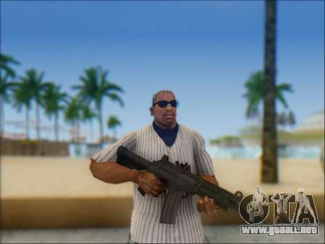 Israel carabina ACE 21 para GTA San Andreas tercera pantalla