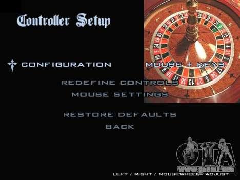 Menu Gambling para GTA San Andreas séptima pantalla
