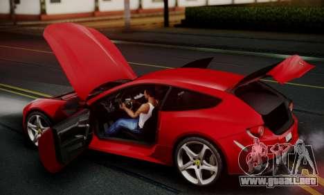 Ferrari FF 2012 para vista inferior GTA San Andreas