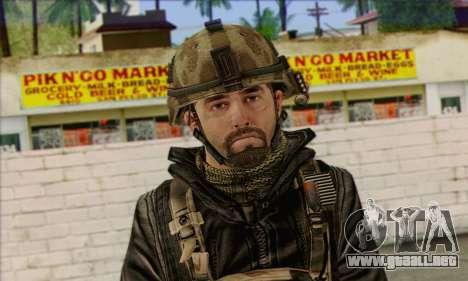 Task Force 141 (CoD: MW 2) Skin 14 para GTA San Andreas tercera pantalla