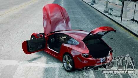Ferrari FF para GTA 4 visión correcta