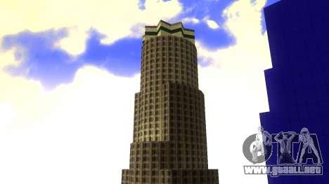 De texturas en HD de cuatro rascacielos en Los S para GTA San Andreas quinta pantalla