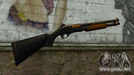 Nitro Shotgun para GTA San Andreas segunda pantalla