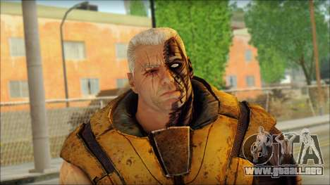 Deadpool The Game Cable para GTA San Andreas tercera pantalla