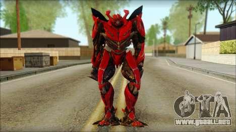 Dino Mirage (transformadores Oscuro de la luna)  para GTA San Andreas