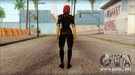 Mass Effect Anna Skin v5 para GTA San Andreas segunda pantalla
