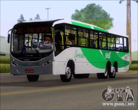 Comil Svelto BRT Scania K310IB 6x2 Sorocaba para GTA San Andreas interior