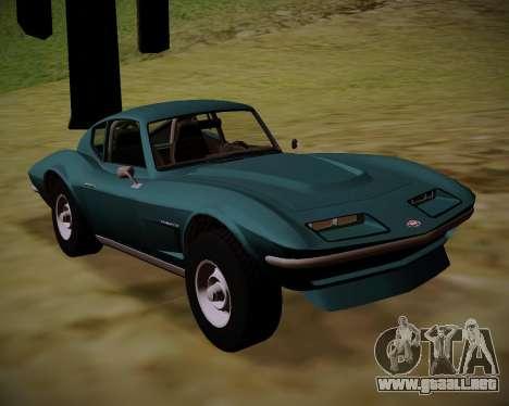 Coquette Classic GTA 5 DLC para GTA San Andreas