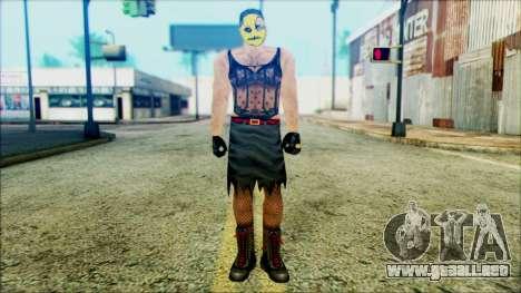 Manhunt Ped 14 para GTA San Andreas