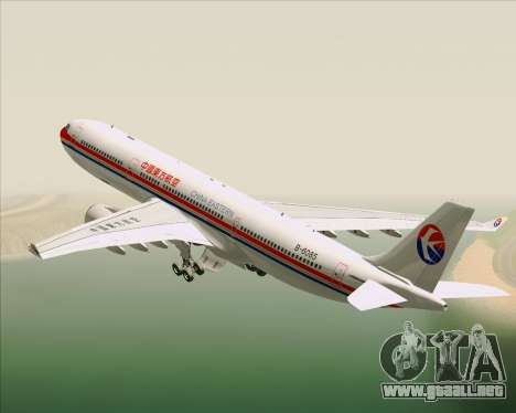 Airbus A330-300 China Eastern Airlines para el motor de GTA San Andreas