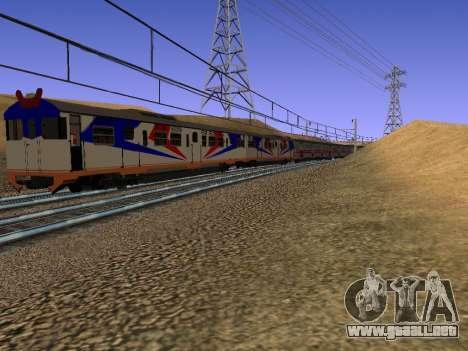 Indonesia tren de diesel de MCW 302 para la visión correcta GTA San Andreas