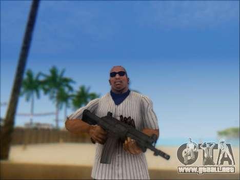 Israel carabina ACE 21 para GTA San Andreas segunda pantalla