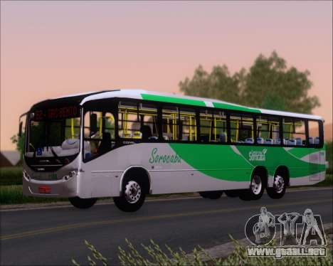 Comil Svelto BRT Scania K310IB 6x2 Sorocaba para GTA San Andreas vista hacia atrás