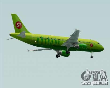Airbus A320-214 S7-Siberia Airlines para las ruedas de GTA San Andreas