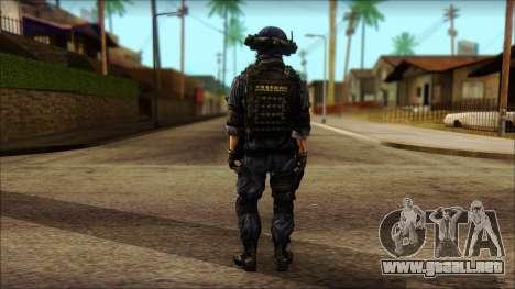 MG from PLA v3 para GTA San Andreas segunda pantalla