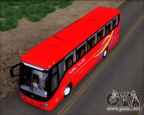 Yanson Viking 4th Generation Rural Tours 10010 para GTA San Andreas vista hacia atrás