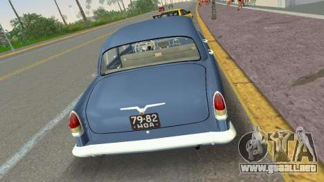 GAZ-21R Volga 1965 para GTA Vice City visión correcta