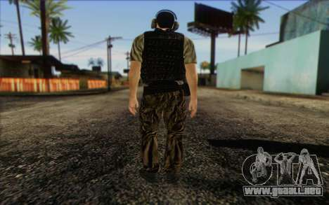 Asano from ArmA II: PMC para GTA San Andreas segunda pantalla