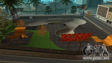 La textura de la pista de patinaje y un hospital para GTA San Andreas tercera pantalla