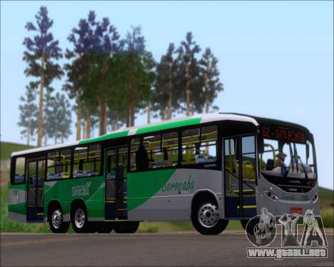 Comil Svelto BRT Scania K310IB 6x2 Sorocaba para GTA San Andreas vista posterior izquierda