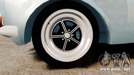 Peugeot 504 para GTA 4 vista hacia atrás