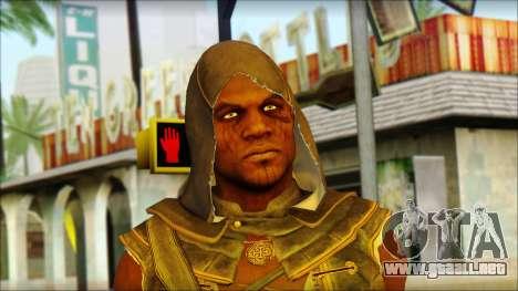 Adewale from Assassins Creed 4: Freedom Cry para GTA San Andreas tercera pantalla