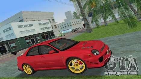 Subaru Impreza WRX 2002 Type 4 para GTA Vice City