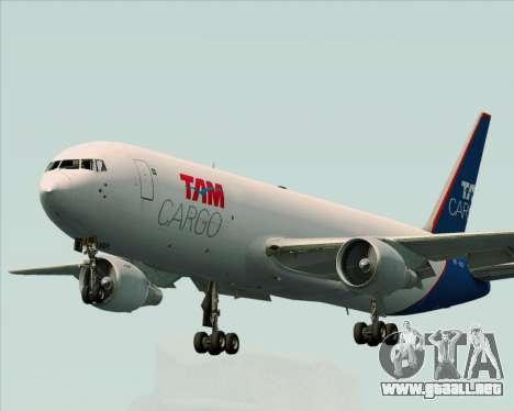 Boeing 767-300ER F TAM Cargo para GTA San Andreas