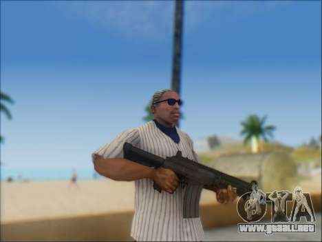 Israel carabina ACE 21 para GTA San Andreas décimo de pantalla