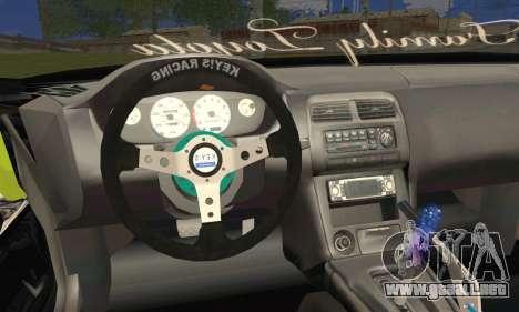 Toyota Chaser Drift 2JZ-GTE para GTA San Andreas vista posterior izquierda