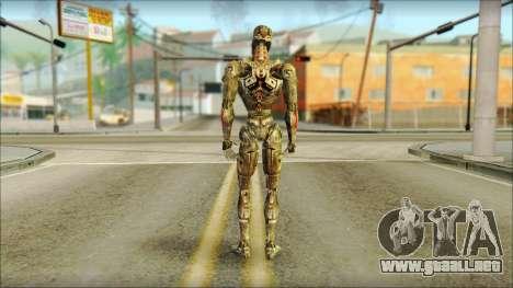 T900 (Terminator 3: la guerra de las máquinas) para GTA San Andreas segunda pantalla