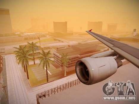 Airbus A320-214 TAM Airlines para las ruedas de GTA San Andreas